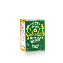 הייר ליבינג - תה ירוק קוקוס אורגני