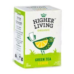 הייר ליבינג - תה ירוק לימון אורגני