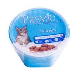 חטיף פרמיו כריות דנטליות לשמירה וחיזוק שיני החתול