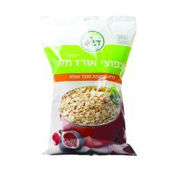 דגש פצפוצי אורז מלא ללא תוספת סוכר ומלח