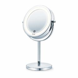 מראה שולחנית מגדילה עם תאורת LED אחורית - BS55