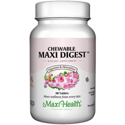 Chewable Maxi Digest מקסי דייג'סט ללעיסה