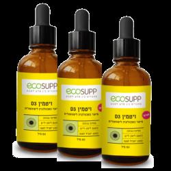 שלישיית ויטמין D3 נוזלי ליפוזומאלי