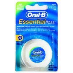 חוט דנטלי עם שעווה מנטה Oral-B Essential Floss
