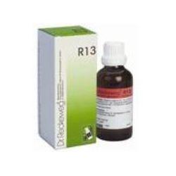 R13 טיפות הומיאופטיות במקרים של טחורים או פיסורה