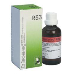 R53 טיפות, במקרים של אקנה ופצעי בגרות