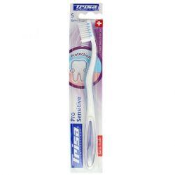 מברשת שיניים לשיניים וחניכיים רגישות