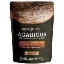 פטריית אגריקוס אורגנית באבקה
