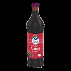 משקה ארוניה + חמוציות אורגני