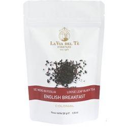 תה שחור אינגליש ברקפסט - LA VIA DEL TE