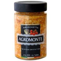Agromonte - ממרח ארטישוק ועגבניות שרי