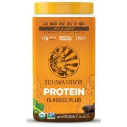חלבון טבעוני פלוס שוקולד SUNWARRIOR