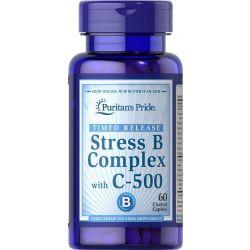 קומפלקס ויטמיני B בתוספת ויטמין C שחרור מושהה