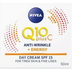 קרם יום Q10 אנרג'י נגד קמטים עם ויטמין C