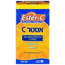 אסטר C - ויטמין C1000 לא חומצי