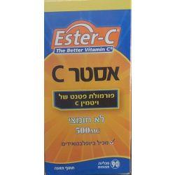 אסטר C - ויטמין C500 לא חומצי
