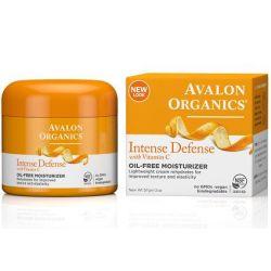 קרם פנים אורגני ויטמין C נטול שומן
