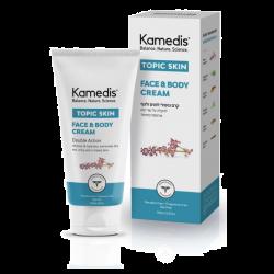 קרם לחות טיפולי לעור יבש עד יבש במיוחד | TOPIC FACE & BODY CREAM