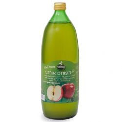 מיץ תפוחים אורגני 100% טבעי