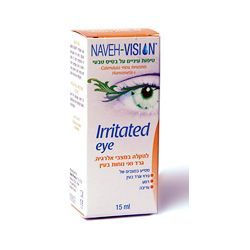 Irritated Eye טיפות לגירוי בעיניים