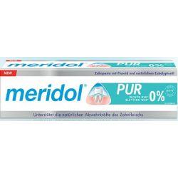 משחת שיניים Meridol PUR מרידול