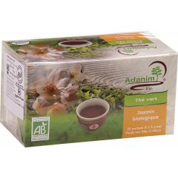 עדנים - תה ירוק עם יסמין אורגני