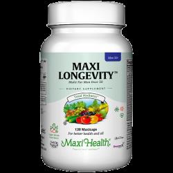 מקסי לונגויטי לגבר (מולטי ויטמין לגברים בגילאי 50+)