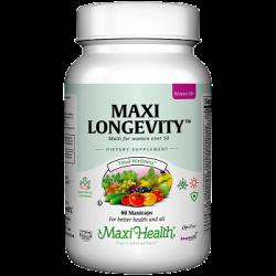 מקסי לונגויטי לאשה - מולטי ויטמין לנשים בגילאי 50+