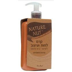 Nature Nut - קרם לחות ועיצוב לשיער יבש ופגום מסדרת האגוזים