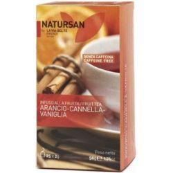 תה תפוז קינמון וניל ללא קפאין - NATURSAN