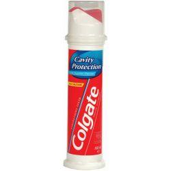 משחת שיניים קולגייט אדומה משאבה