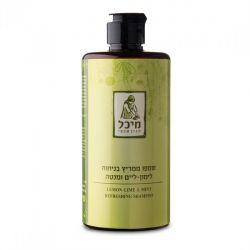 שמפו טבעי ממריץ בניחוח למון-ליים ומנטה