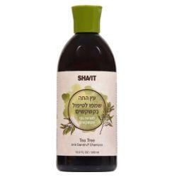 עץ התה שמפו לטיפול בקשקשים