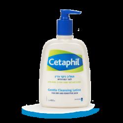תחליב אל-סבון לניקוי עדין לעור רגיש ו/או עור יבש
