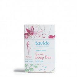 סבון מוצק טבעי פטשולי וניל