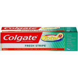 משחת שיניים קולגייט טוטאל פסים מרעננים