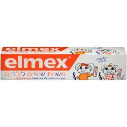 משחת שיניים לילדים בגילאי 2-6 - Elmex