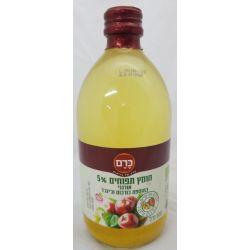 חומץ תפוחים 5% אורגני בתוספת כורכום וג'ינגר