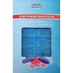 ערכת תרופות שבועית-יומית