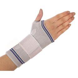 מגן שורש כף היד פעיל עם סיליקון - שמאל (מידות לבחירה)